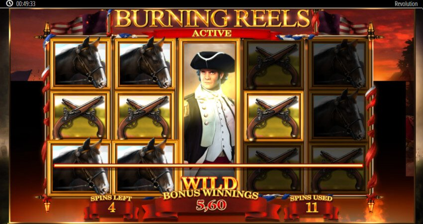 Revolution Patriot's Fortune Slot