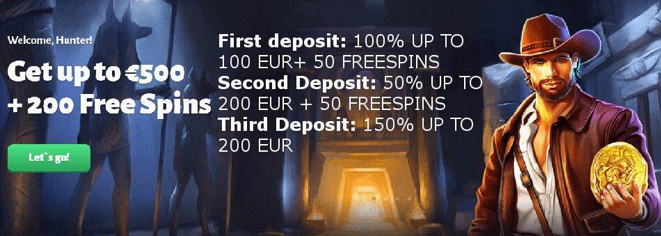 Slothuner: 100% Casino bonus