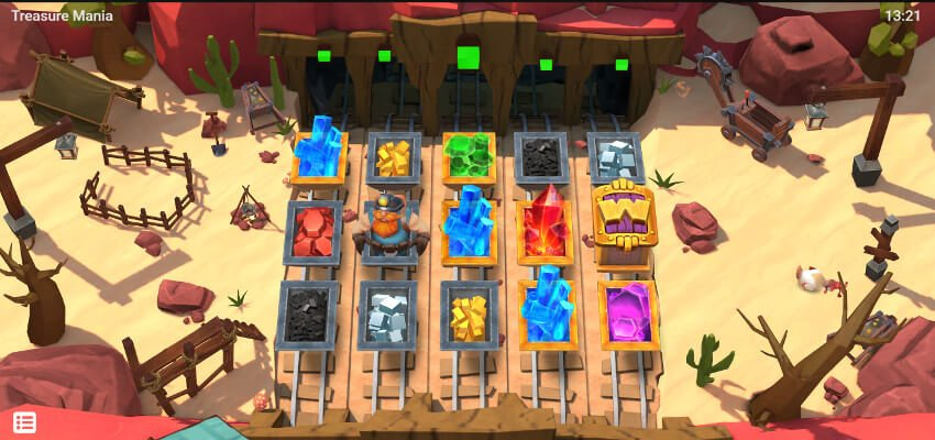Treasure Mania Slot