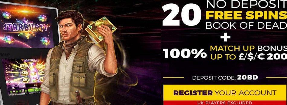 Power Slots Casino: 20 free spins no deposit