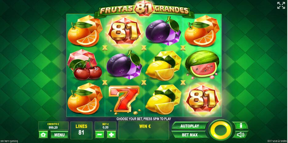 81 Frutas Grandes slot