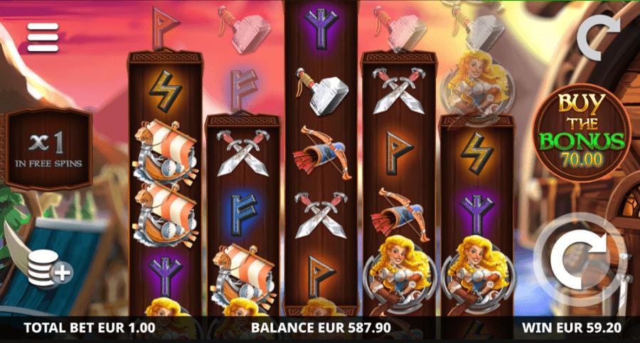 Viking Raid Zone Slot
