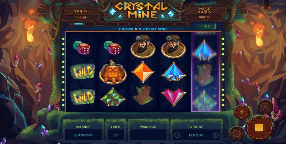 Crystal Mine slot